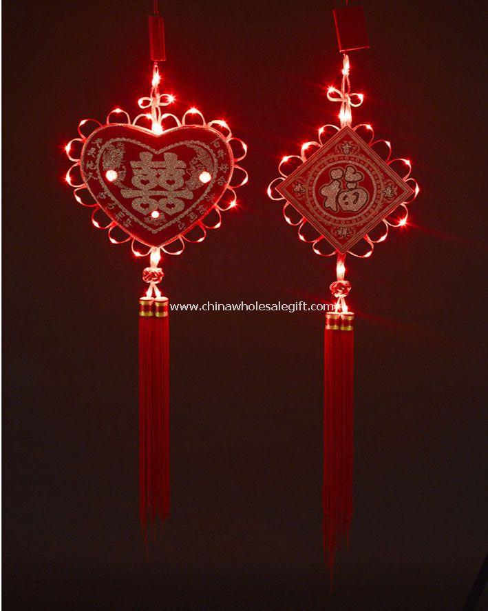 LED Chinese knot wedding light Model NoCWSG40748