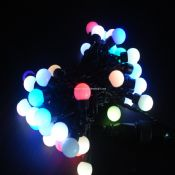 RGB LED String Light with Round Bulb images