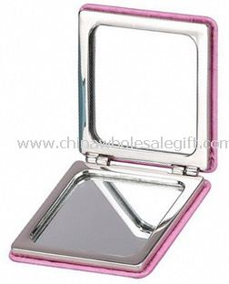 Square compact cosmetic mirror