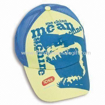 Plastic Snap Closure Cotton Mesh Trucker Cap