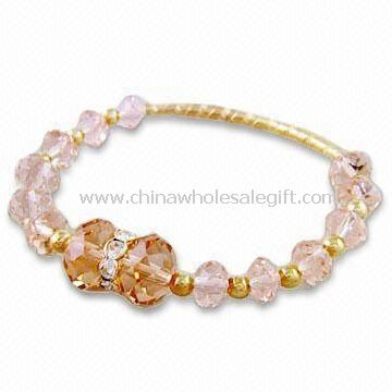 Crystal Pave Beaded Bracelet at ShopStyle