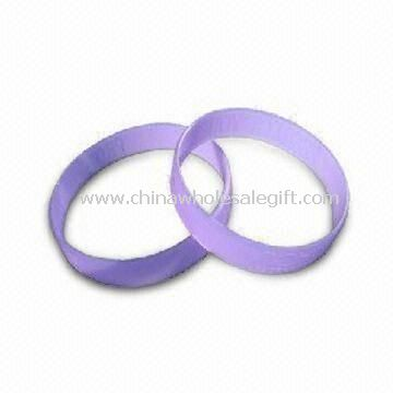 CUSTOM SILICONE WRISTBANDS -BULK RUBBER BRACELETS, DEBOSSED