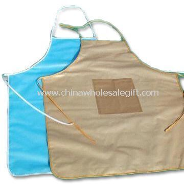 Cotton Apron with PE Surface Lamination Layer