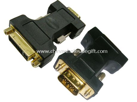 DVI Female-VGA Male Video Converter Adapter for Cable