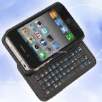 ABS Bluetooth 3.0 Slide Keyboard with Mouse 2 in 1 for iPhone 4S small picture