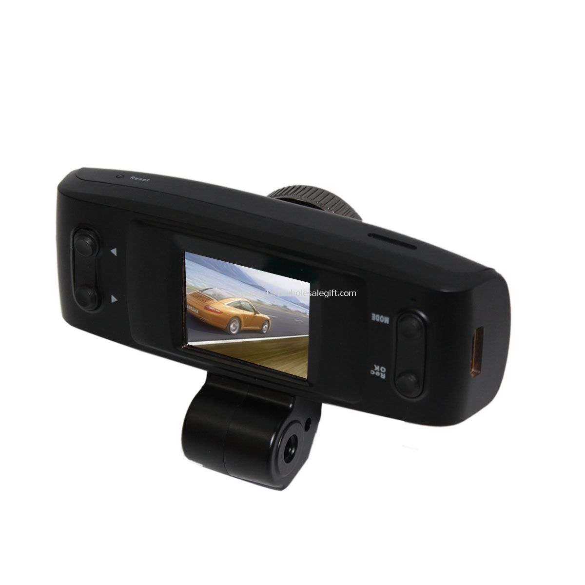 High definition 1080p video camcorder GPS with screen