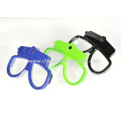 Scuba Diving Mask HD Camcorder and Snorkel