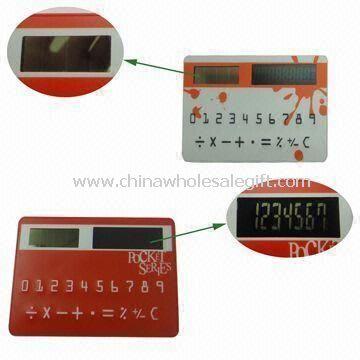 Calculadora Solar tarjeta de bolsillo
