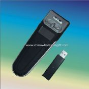 2.4G wireless presenter with timer images