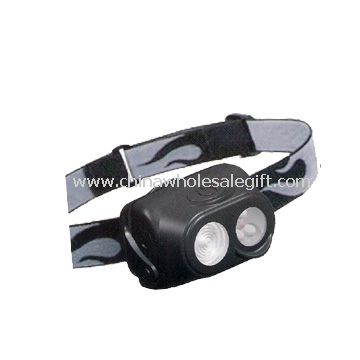 1W white LED and 3 white LED and 1 red LED Headlamp