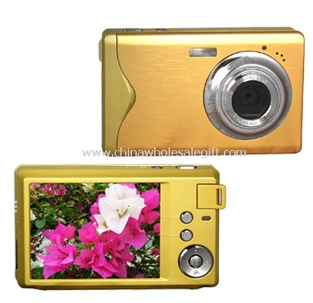 15Mega Pixels Slim Digital Camera with 4X Digital Zoom