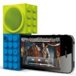 Toy bricks IPhone 4s speakers small picture
