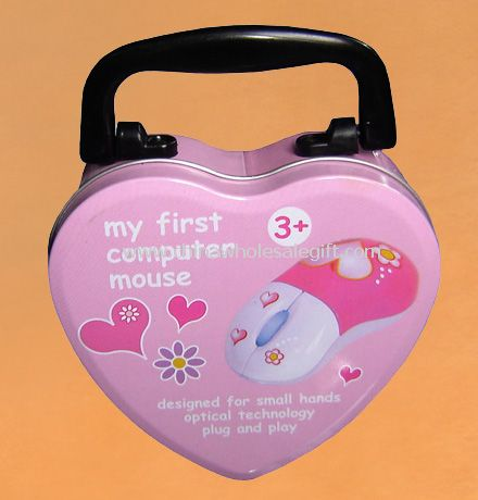 Heart shape Lunch Box with Handle