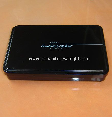 Mini Square Tin Box