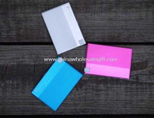 Tamaño tarjeta de crédito banco de potencia