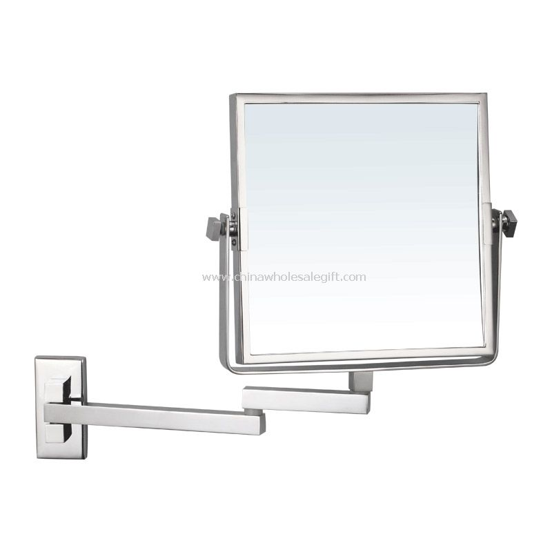 Wall mounted square mirror