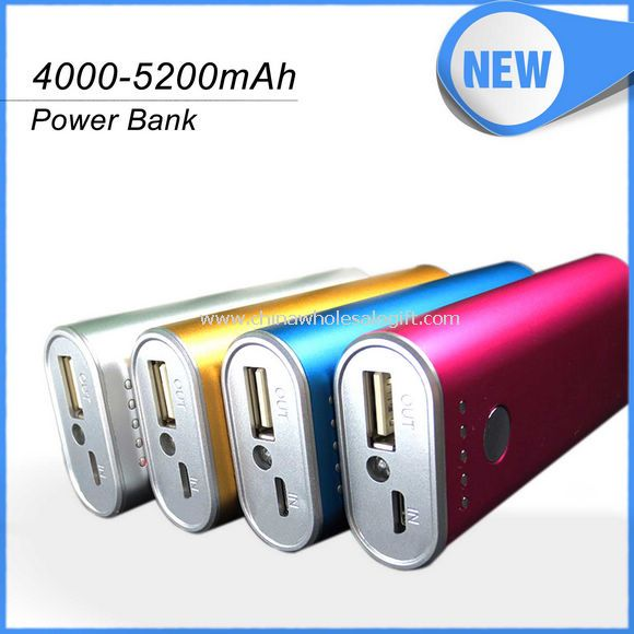 Power Bank 4000Mah LED torch