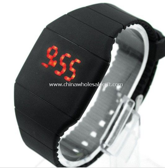 Touch Silicone LED Watch
