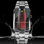 Waterproof led watch small picture