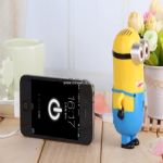 Cute little yellow man power bank small picture