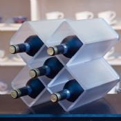 Acrylic Wine Rack for Party and Celebrating Occasion