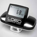 Heart rate display 3d pedometer small picture