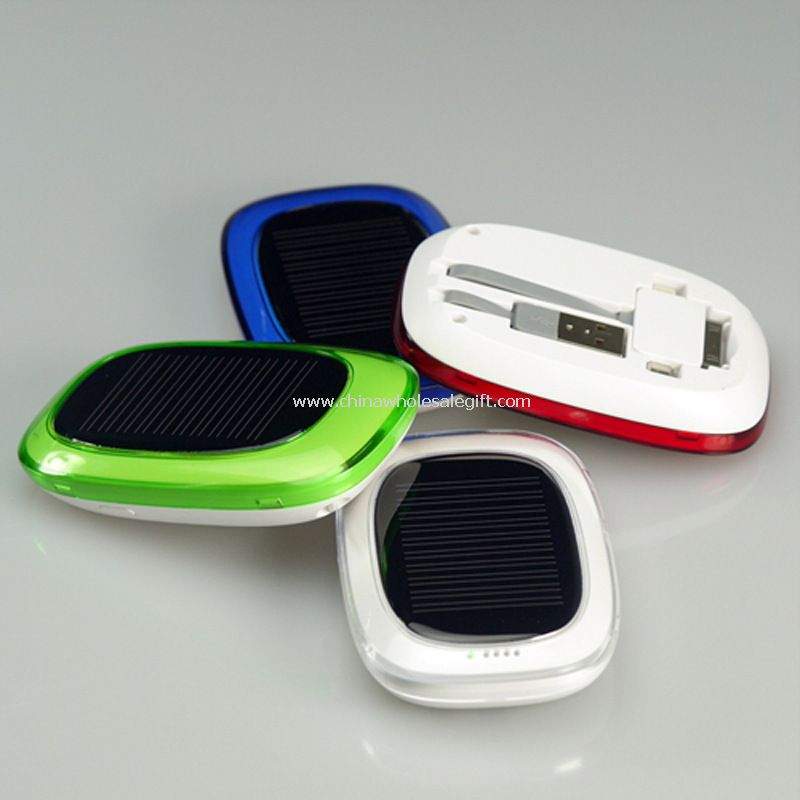 Cargador solar para teléfonos móviles