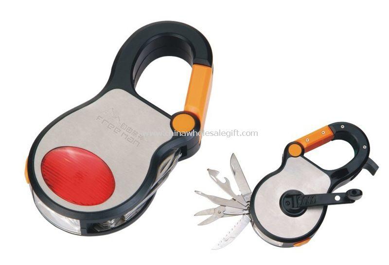 Multifunción manivela de emergencia kit de herramienta