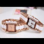 Square Crystal Lady Watch small picture
