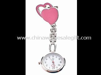 Heart Shape Nurse Watch