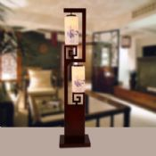 Floor Lamp Pretty Porcelain Bamboo Handmade images