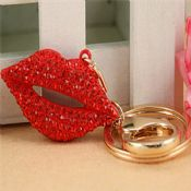 red lips key holder keychain images