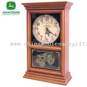 Koleksi John Deere Model D traktor Regulator Mantel Clock