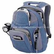 Padded crossover shoulder strap with cell phone pocket Backpack images