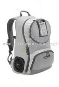 Laptop backpack with sound case images