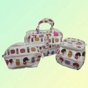 Canvas Cosmetic Bag images