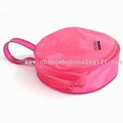 Circular-shaped Cosmetic Bag images