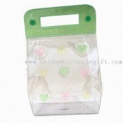 Green PVC Cosmetic Bag images