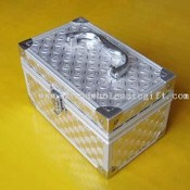 Solid Square Aluminum Cosmetic Case images