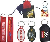 Patch Key Chains and Gift Bags images