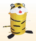 Cartoon bin with Tiger image images