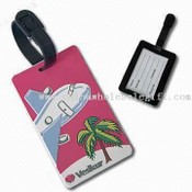 Soft PVC Luggage Tag images