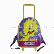 Cute Childrens School Trolley Bag images