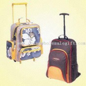 Multicolored Fabric School/Travel Bags images