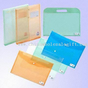 Transparent PP File Bags and Envelops