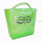 Transparent Citron Vert PVC X organza sac images