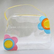 Trapeziform Transparent PVC Bag images