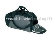 Sports bag with shoes compartment images