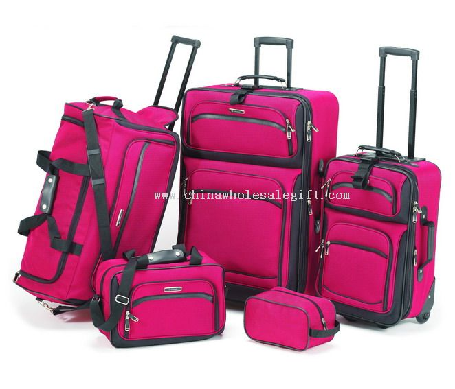 5pcs set trolley EVA