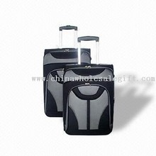 Three Pieces Softside Luggage Trolley Case Set images